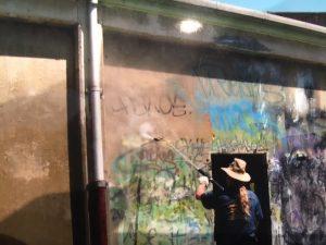 Graffiti removal Sydney west