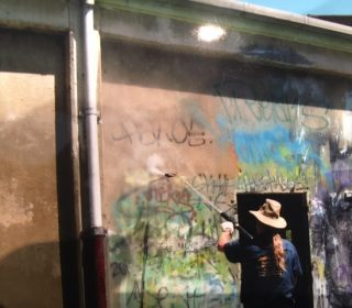 Graffiti removal Sydney west