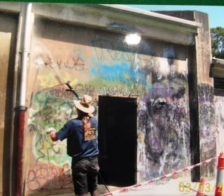 Graffiti removal Sydney service